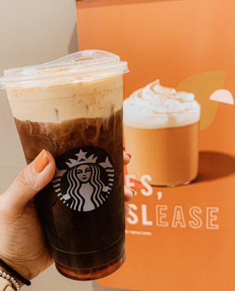 Starbucks Pumpkin Spice Cold Brew